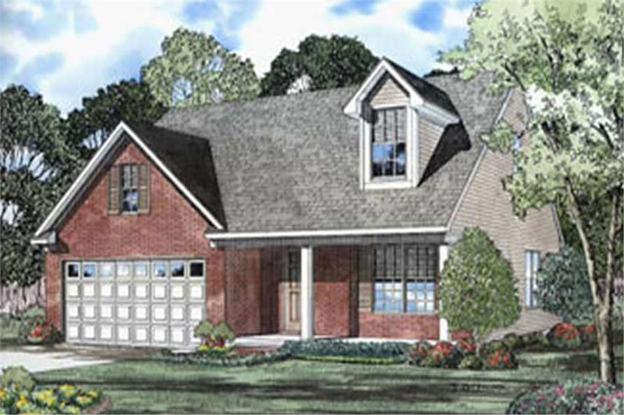 Main image for house plan # 4055