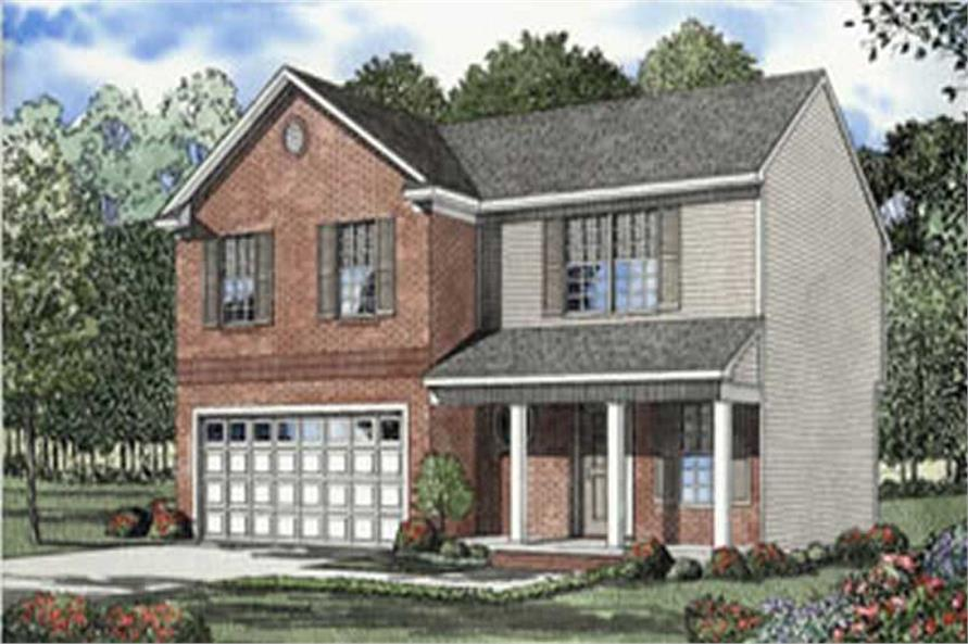 Main image for house plan # 4057