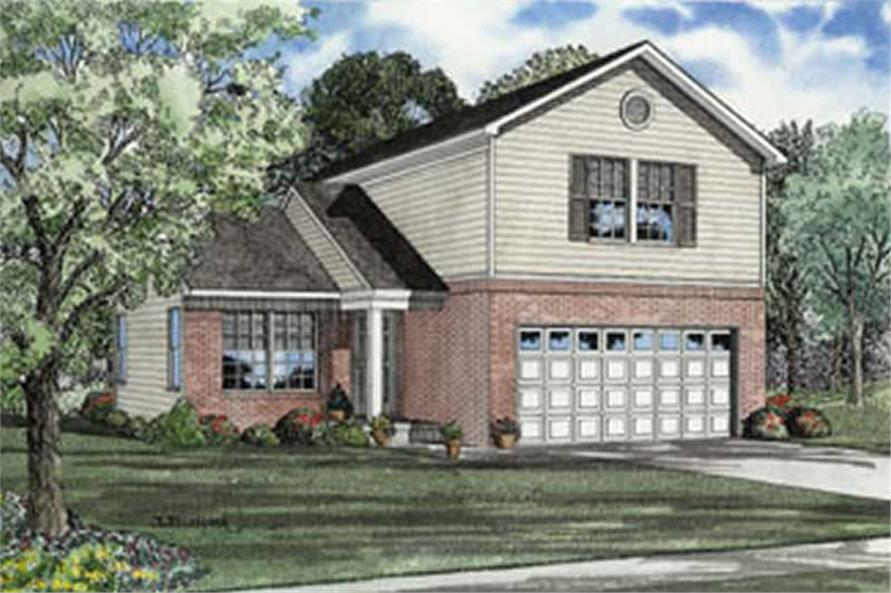 Main image for house plan # 4050