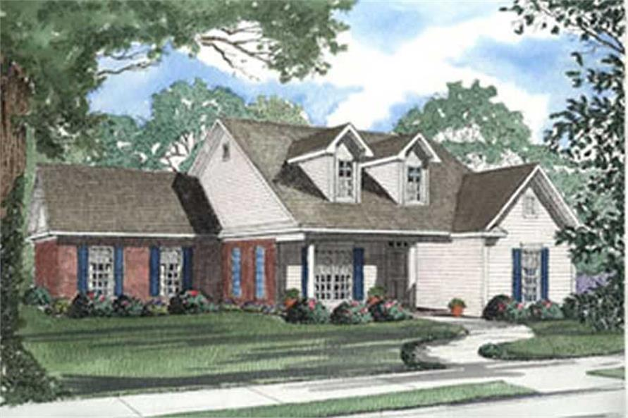 Main image for house plan # 3938