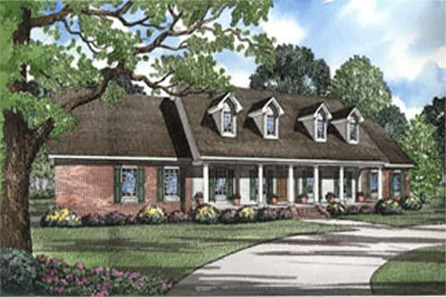 Main image for house plan # 4018