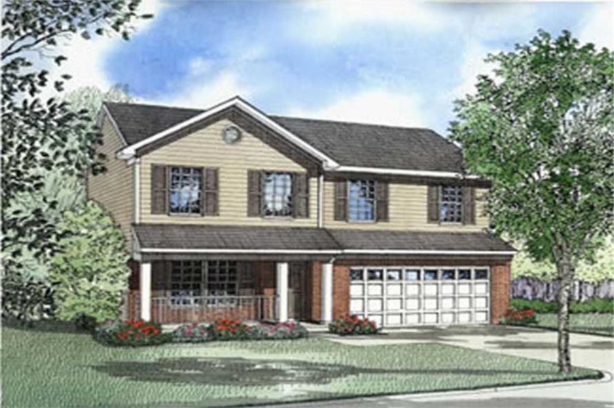 Main image for house plan # 4053