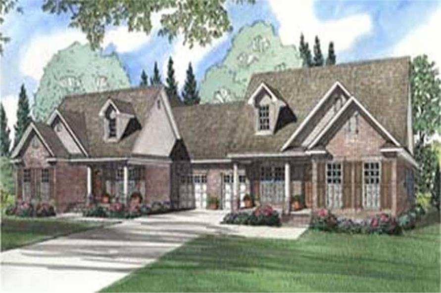 Main image for house plan # 3966