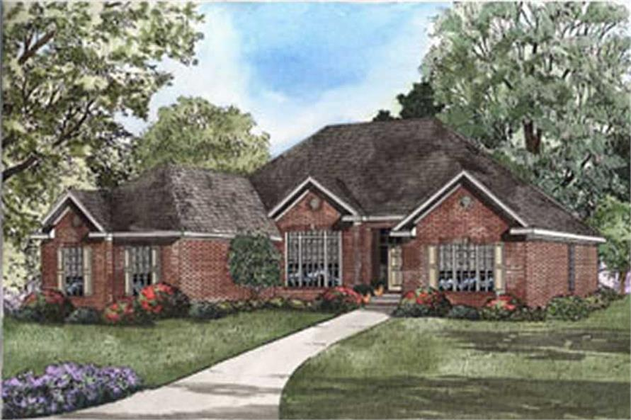 Main image for house plan # 3795