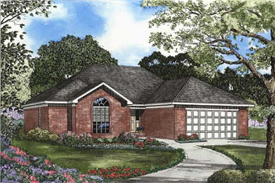Main image for house plan # 3797