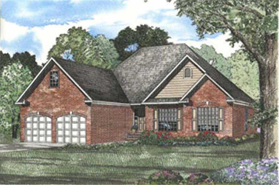 Main image for house plan # 3803