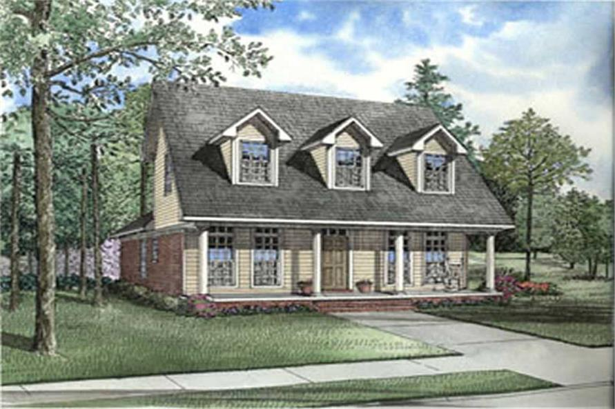 Main image for house plan # 3813