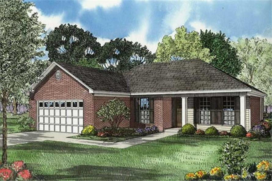 Main image for house plan # 7810