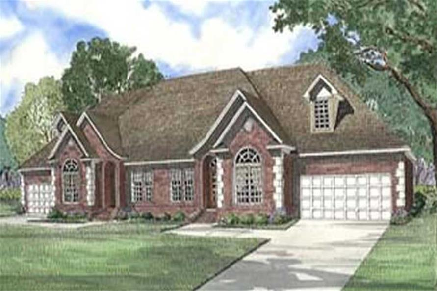 Main image for house plan # 3963