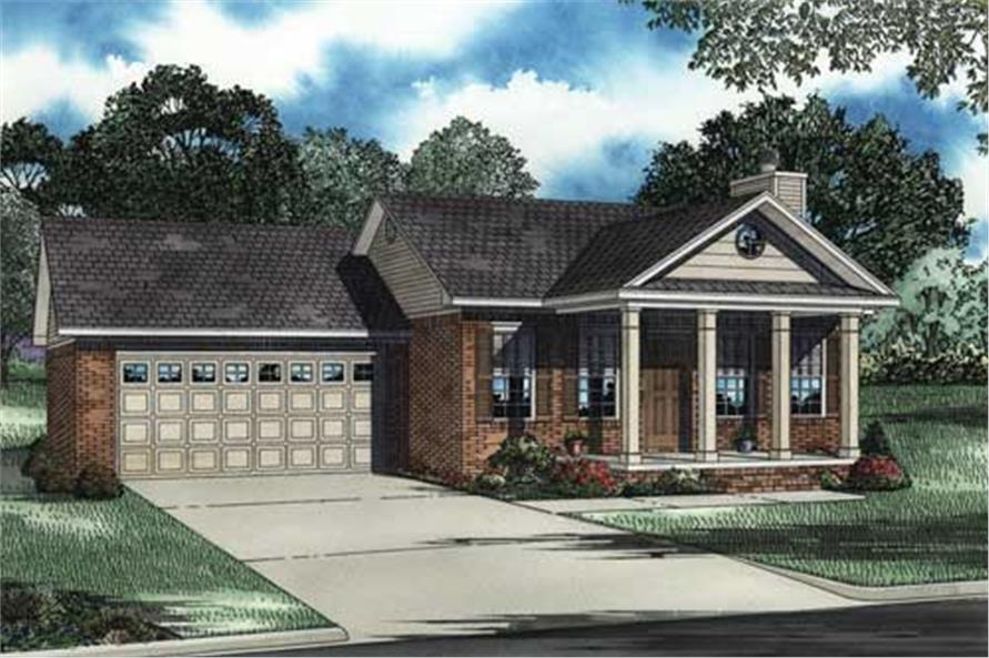 Main image for house plan # 3746