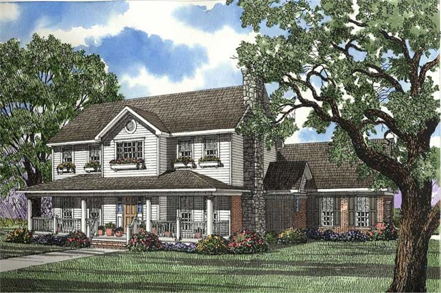 Main image for house plan # 4478