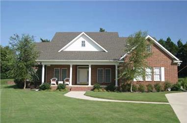 4-Bedroom, 2261 Sq Ft Southern Home Plan - 153-1351 - Main Exterior