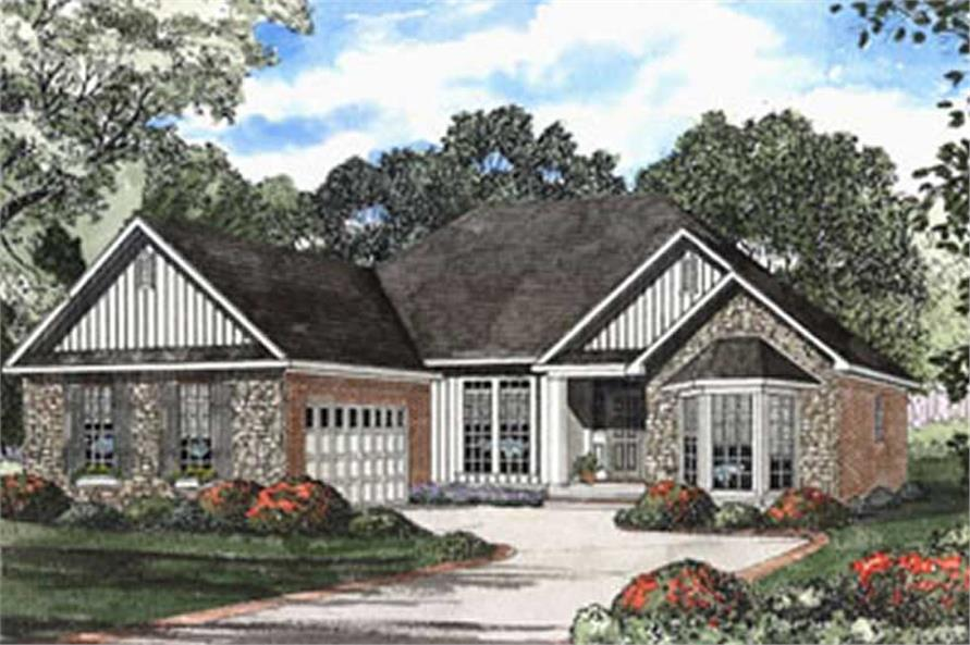 Main image for house plan # 3787