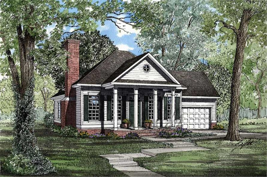 Main image for house plan # 3330