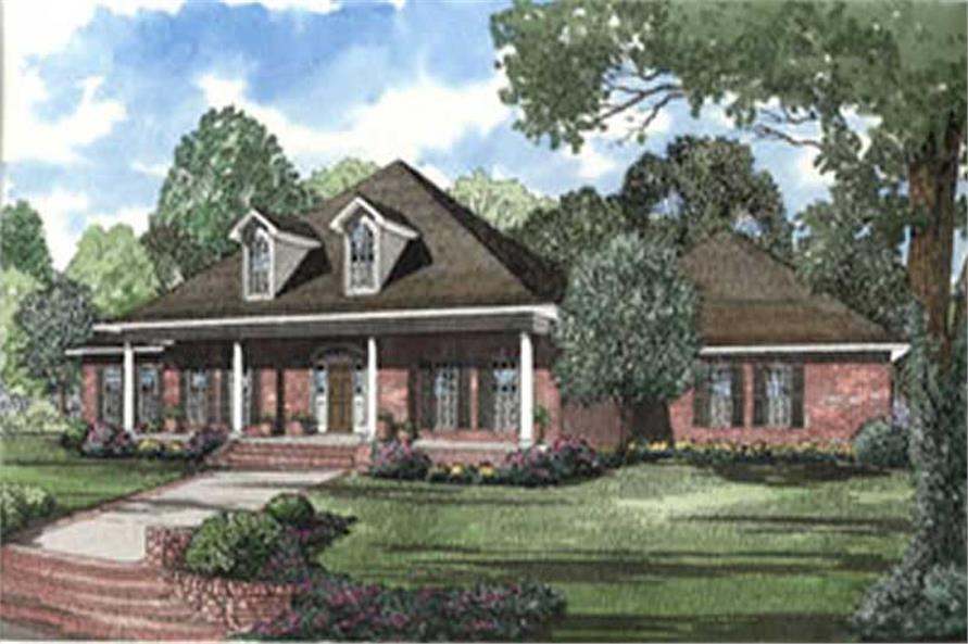 Main image for house plan # 4008