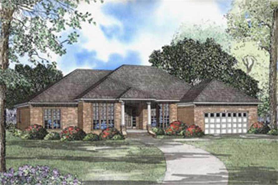 Main image for house plan # 5581