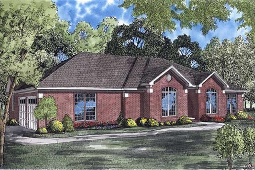 Main image for house plan # 7813