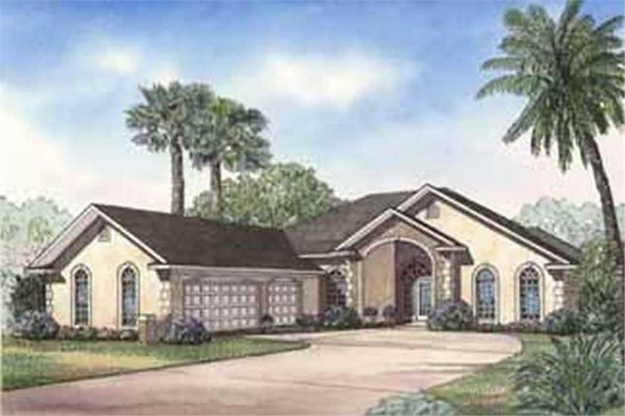 Main image for house plan # 3714