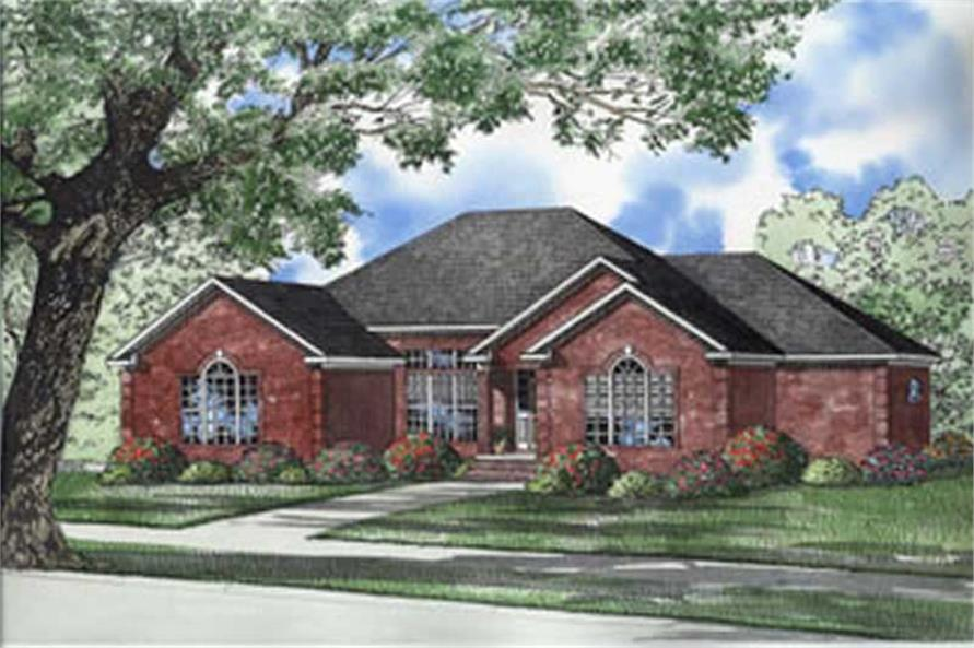 Main image for house plan # 5582