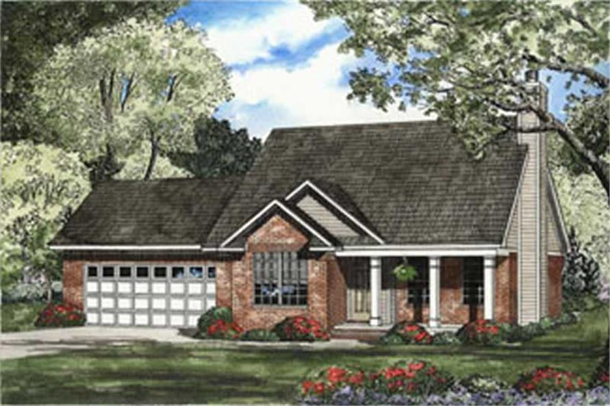 Main image for house plan # 3747