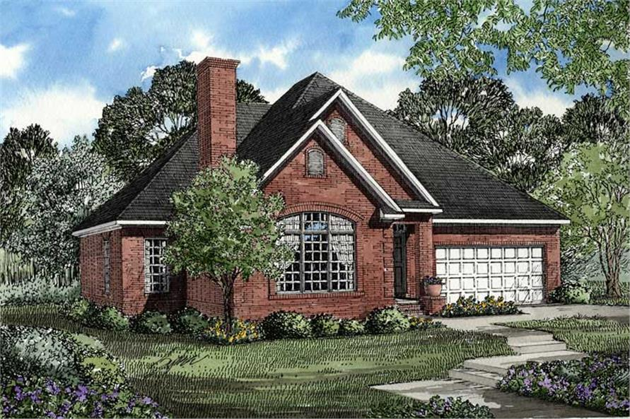 Main image for house plan # 3474
