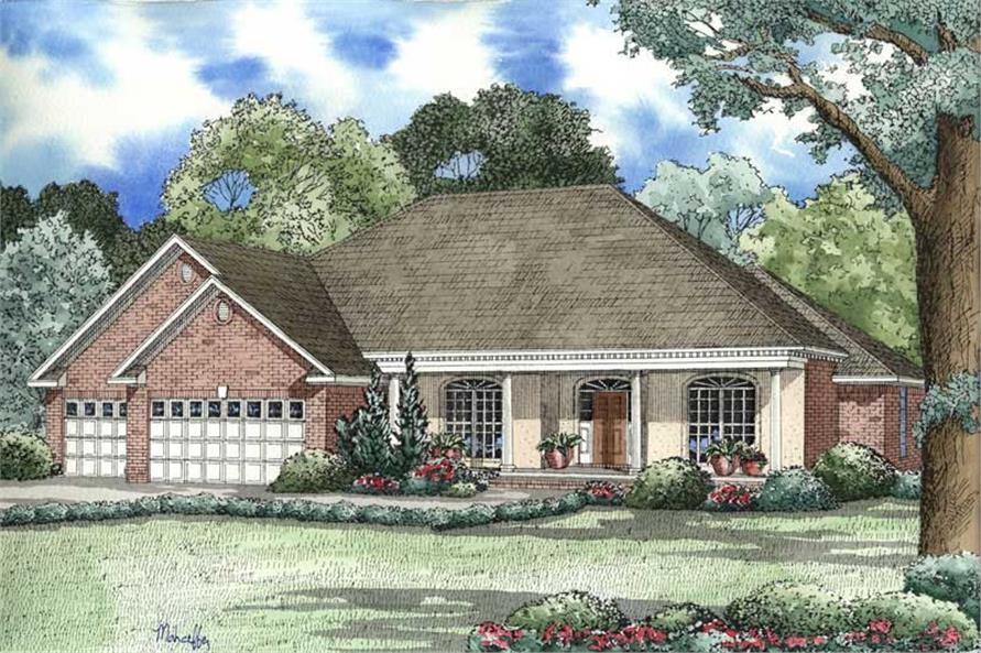 Main image for house plan # 3324