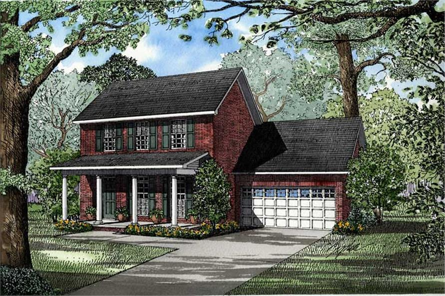 Main image for house plan # 3455