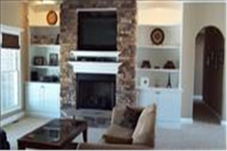 153-1417 house plan great room