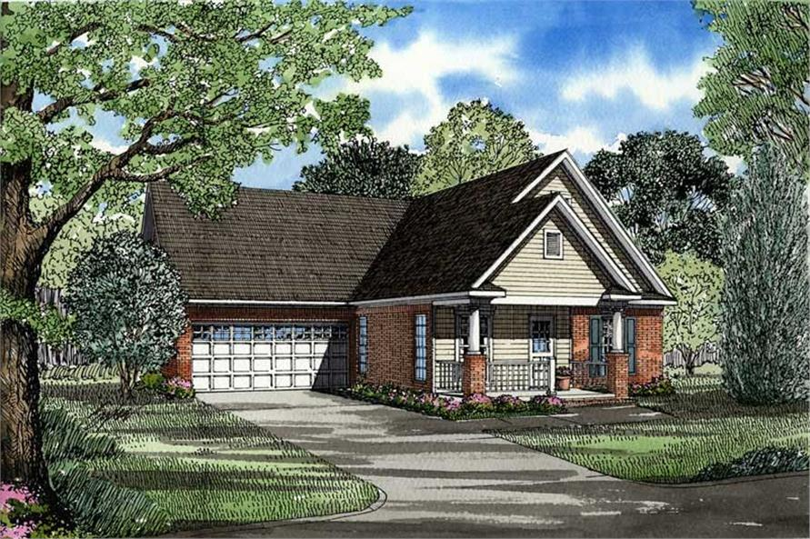 Main image for house plan # 3456