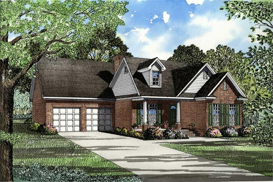 Main image for house plan # 3458