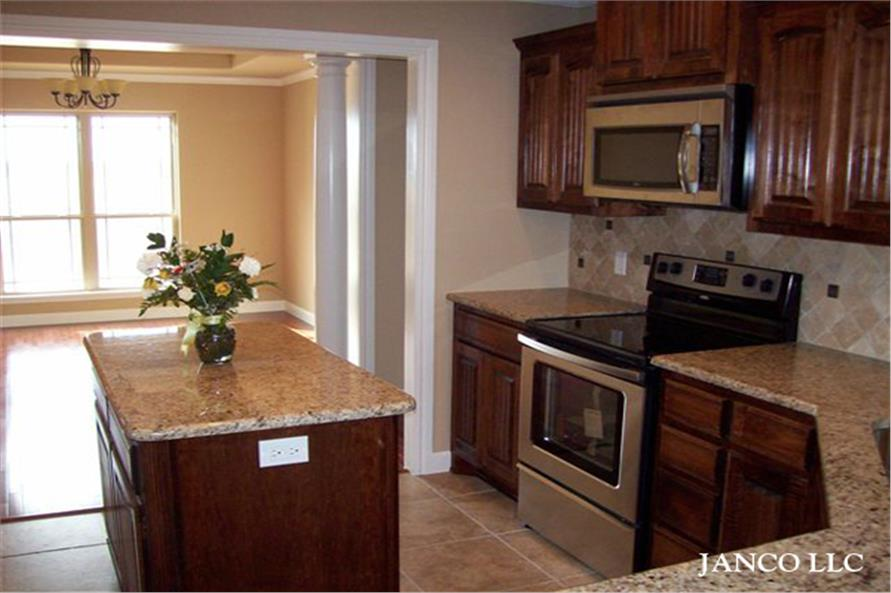 153-1432 house plan kitchen photo