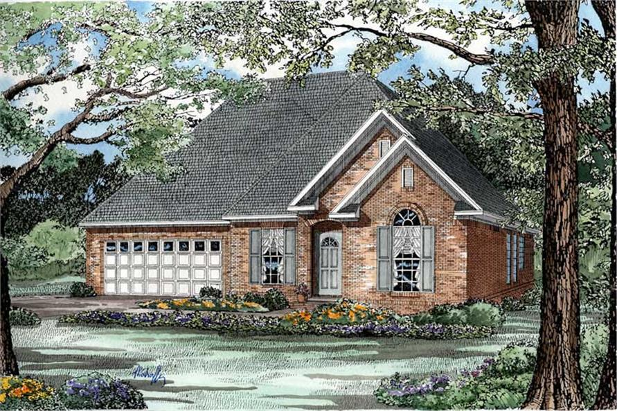 Main image for house plan # 3338