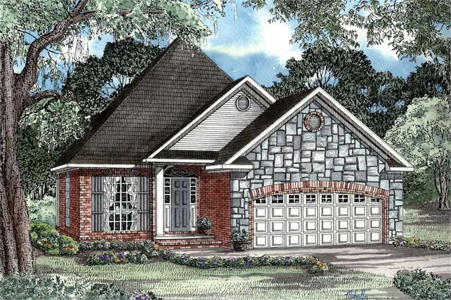 Main image for house plan # 3337