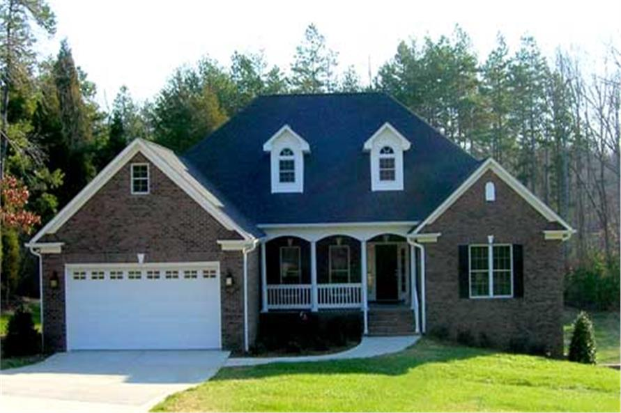 Main photograph for house plan #153-1440