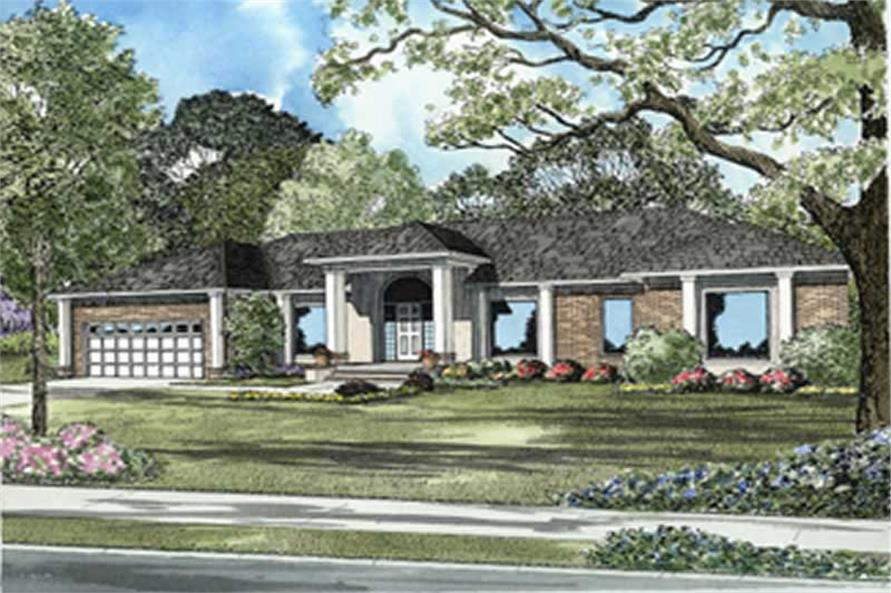 Main image for house plan # 7883