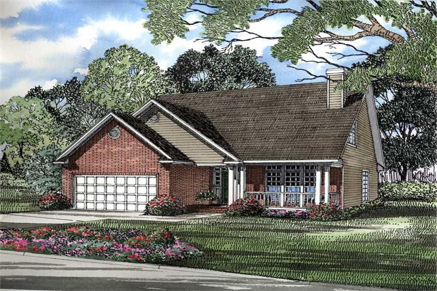 Main image for house plan # 3301
