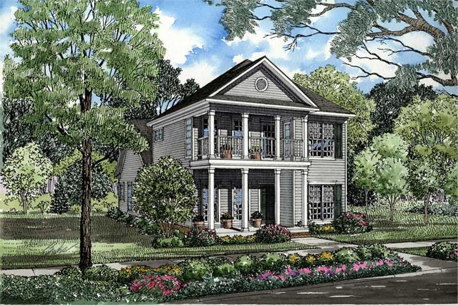 Main image for house plan # 3498