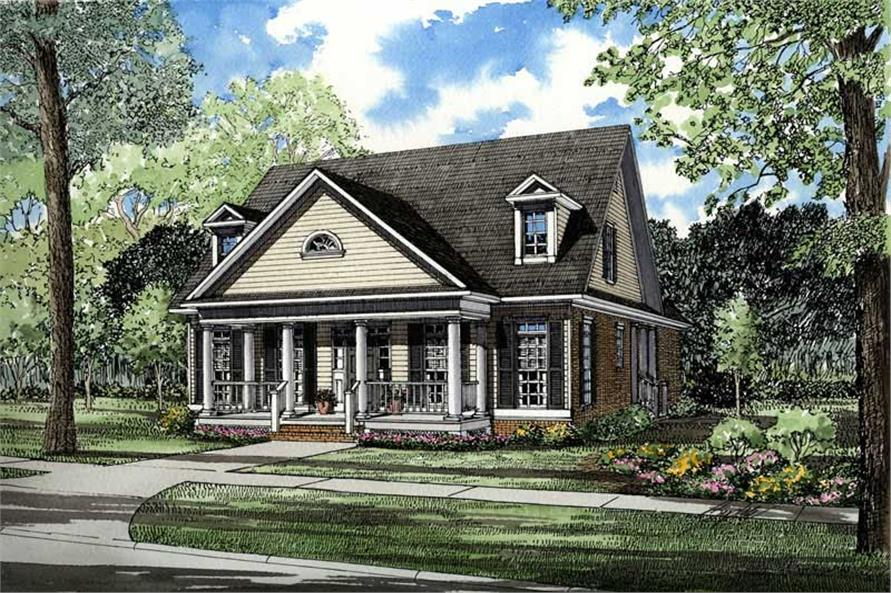 Main image for house plan # 3500