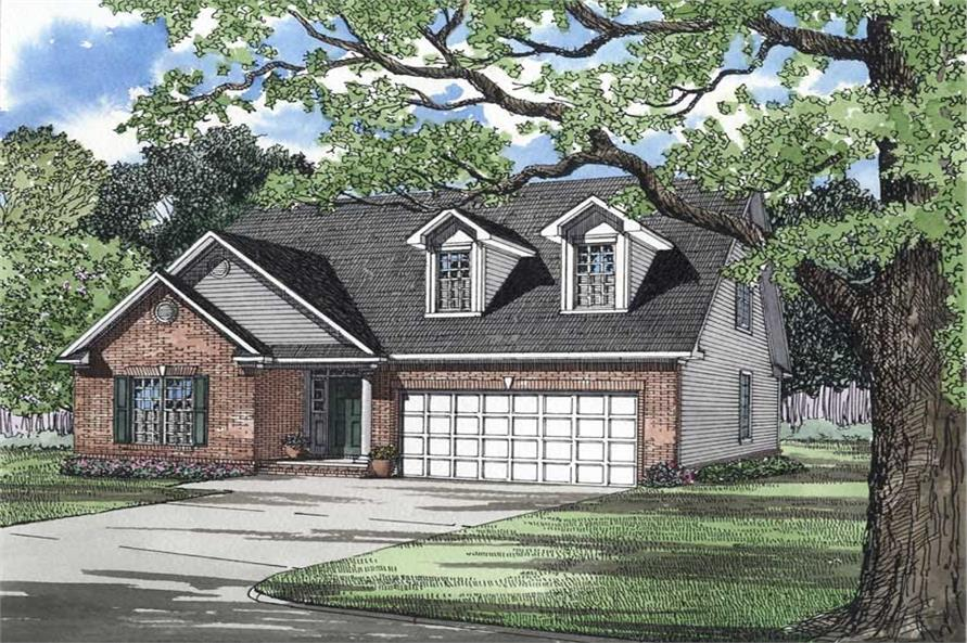 Main image for house plan # 3501