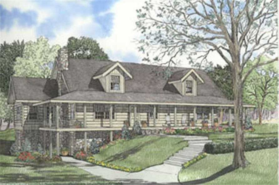 Main image for house plan # 5120