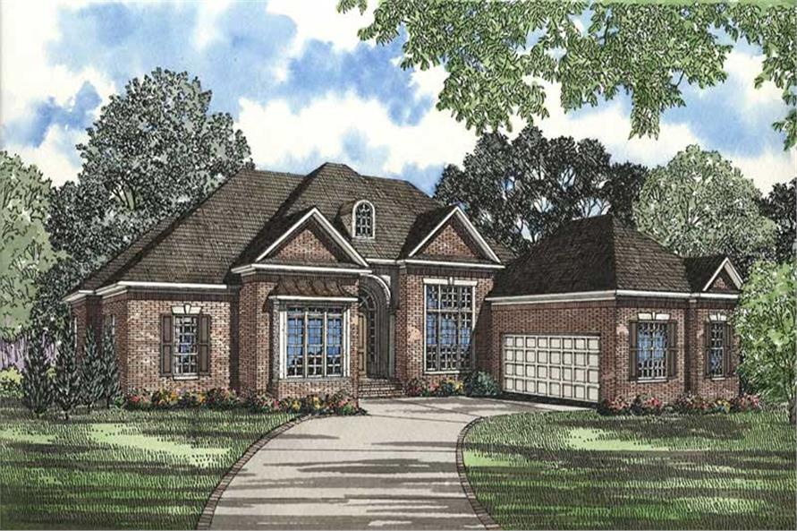 Main image for house plan # 3509