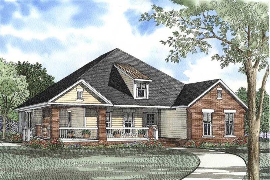 Main image for house plan # 3349