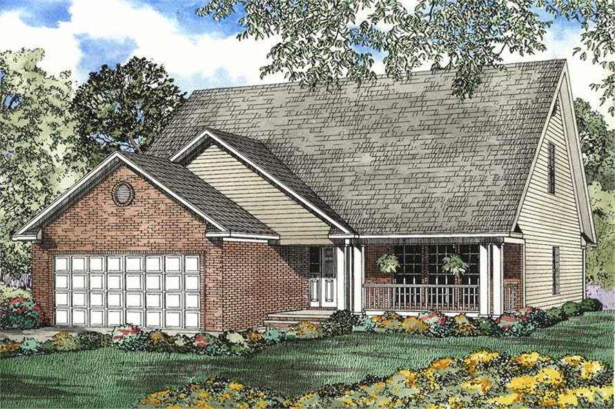 Main image for house plan # 3407