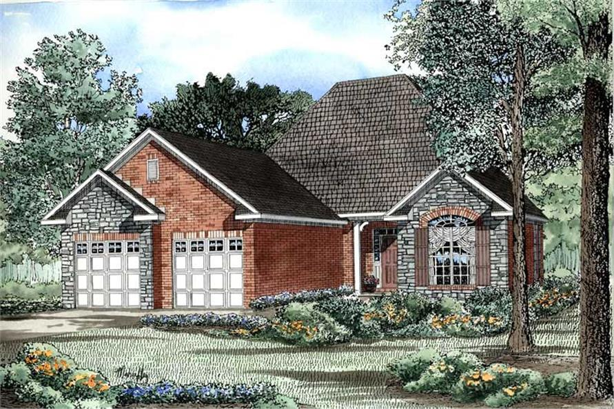 Main image for house plan # 3355