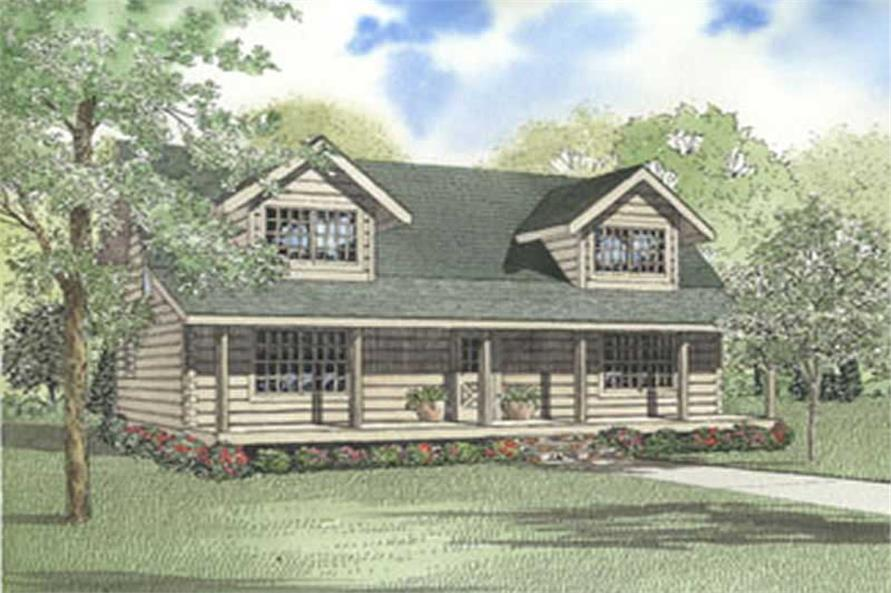 Main image for house plan # 5128