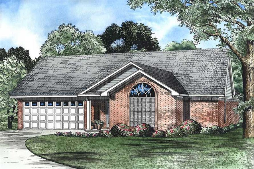 Main image for house plan # 3351
