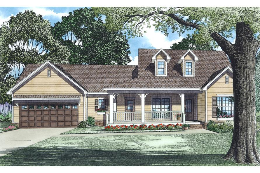 153-1483: Home Plan Rendering