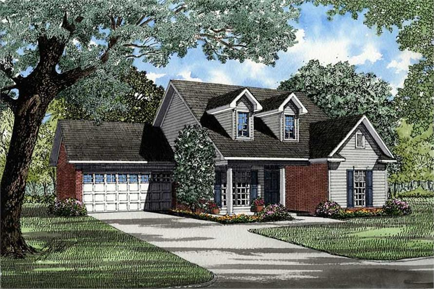Main image for house plan # 3389