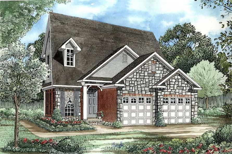 Main image for house plan # 3382