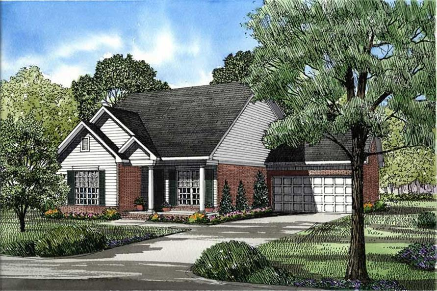 Main image for house plan # 3391